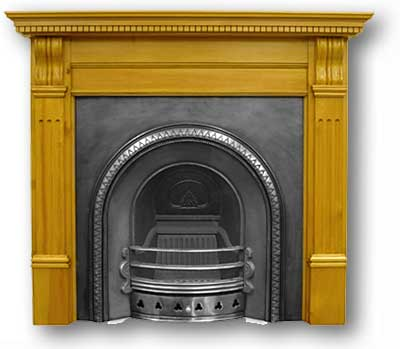 The Lady Victoria Fireplace Insert - The Lady Victoria Fireplace Insert From Victorian Fireplace
