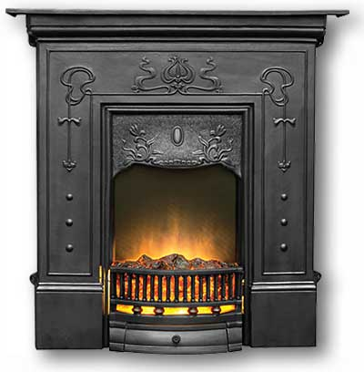 Bella Cast Iron Fireplace From Victorian Fireplace