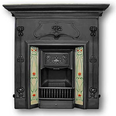 Victorian fireplaces cast iron wood electric fireplaces for Victorian corner fireplace