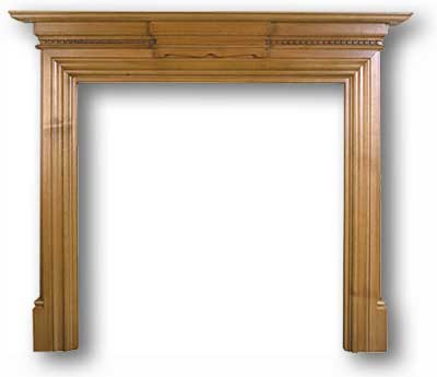 The Grand Wooden Mantel - Grand Reproduction Edwardian Fire Surround From  Victorian - Edwardian Fireplace Mantels - Reproduction Fireplace Mantels IDI Design