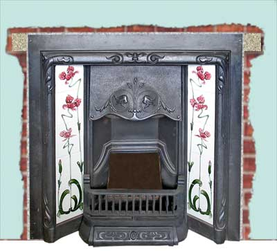 how to build a fire in a fireplace insert