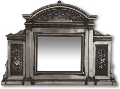 Arts and crafts mirror from victorian fireplace suppliers uk