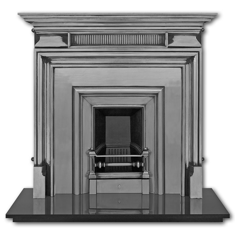 The Royal Narrow Cast Iron Fireplace Insert Victorian Fireplaces