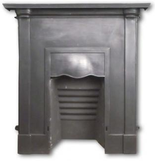Original Victorian combination fireplace