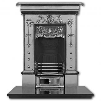 The Bella ( Small ) Cast Iron Combination Fireplace Full Polished