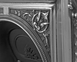 The Melrose Cast Iron Combination Fireplace detail