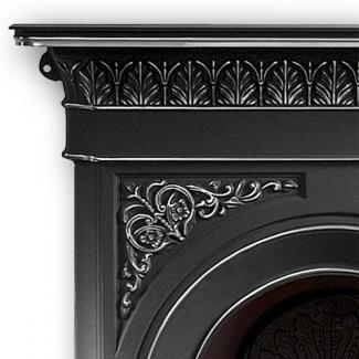 the Nottage combination fireplace detail