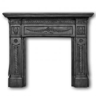 The Holyrood Cast Iron Fire Surround
