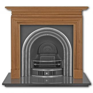 The Collingham Arched Cast Iron Fireplace Insert highlighted