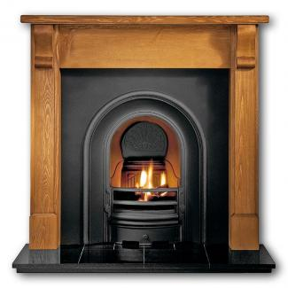 The Coronet Cast Iron Fireplace Insert