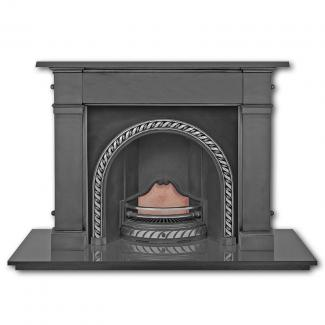 The Westminster Arched Cast Iron Fireplace Insert